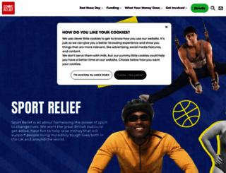 sportrelief.com screenshot