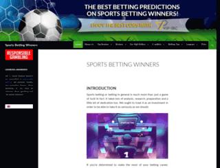 sports-betting-winners.com screenshot