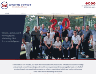 sports-impact.com screenshot