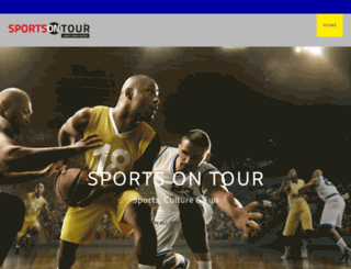 sports-on-tour.com screenshot