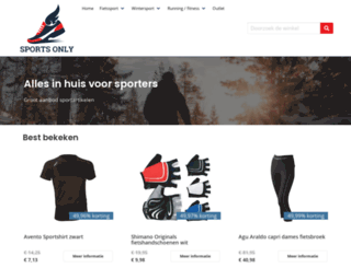sports-only.nl screenshot