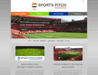 sports-pitch-engineering.com screenshot