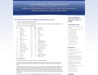 sports-ratings.com screenshot