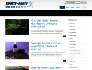 sports-sante.com screenshot