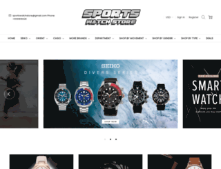 sports-watch-store.com screenshot