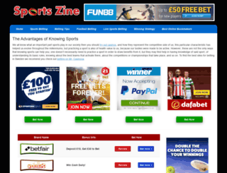 sports-zine.com screenshot