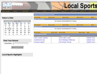 sports.9and10news.com screenshot