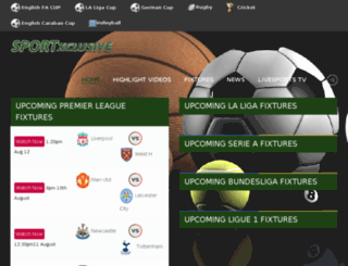 sports.africaxclusive.com screenshot