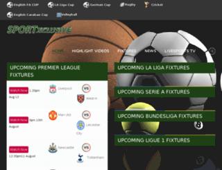 sports.africaxclusive.com screenshot