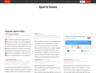 sports.alltop.com screenshot