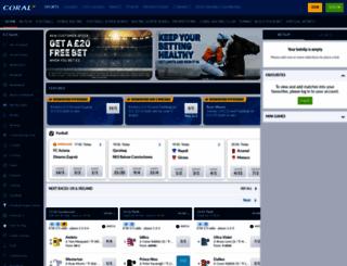 sports.coral.co.uk screenshot