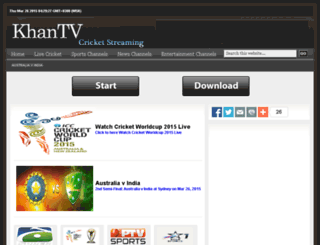 sports.khantv.tv screenshot