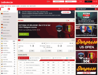 sports.ladbrokes.be screenshot