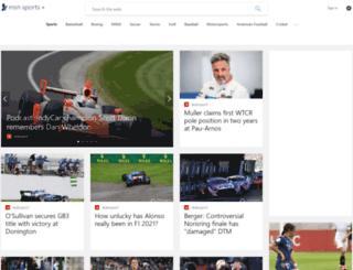sports.ph.msn.com screenshot