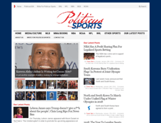 sports.politicususa.com screenshot