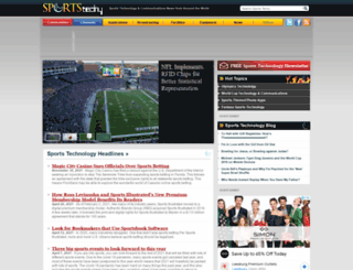 sports.tmcnet.com screenshot
