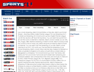 sports4u.net screenshot