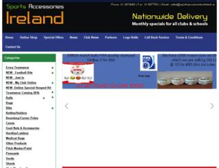 sportsaccessoriesireland.ie screenshot