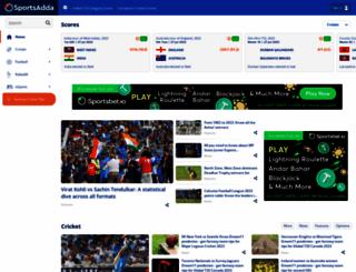 sportsadda.com screenshot