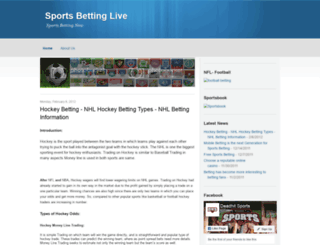 sportsbetting-live.blogspot.com screenshot