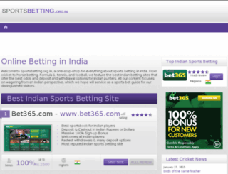 sportsbetting.org.in screenshot