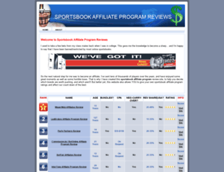 sportsbookaffiliateprogramreviews.com screenshot