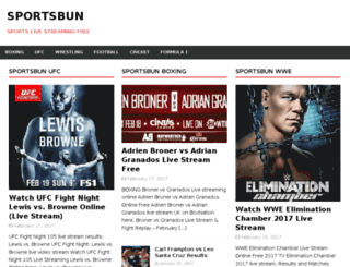 sportsbun.com screenshot