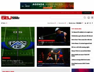sportsbusinessjournal.com screenshot