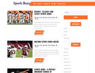 sportsbuzz.info screenshot