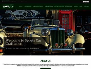 sportscarcraftsmen.com screenshot