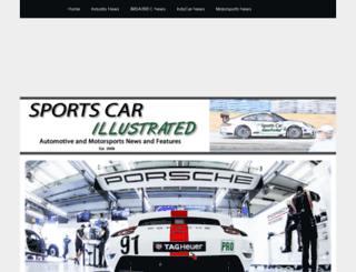 sportscarillustrated.com screenshot