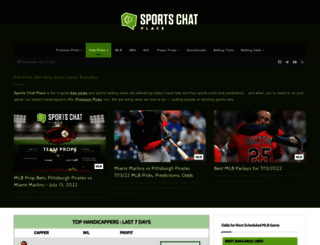 sportschatplace.com screenshot
