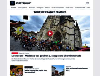 sportschau.de screenshot