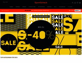 sportscheck.com screenshot