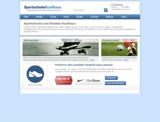 sportschuhe-kaufhaus.de screenshot