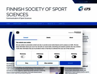 sportscience.fi screenshot