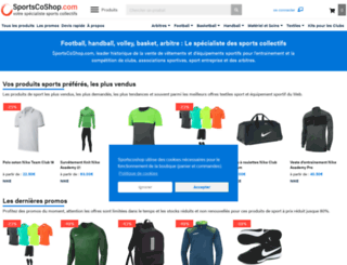 sportscoshop.com screenshot