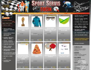 sportservistocik.cz screenshot