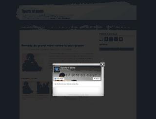 sportsetsante.blogspot.com screenshot