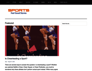 sportsfeelgoodstories.com screenshot