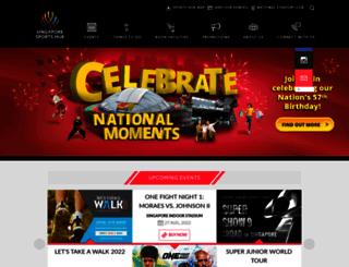 sportshub.com.sg screenshot