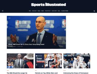 sportsillustrated.co.za screenshot