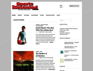 sportsillustratedblog.wordpress.com screenshot