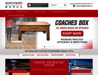sportsimports.com screenshot