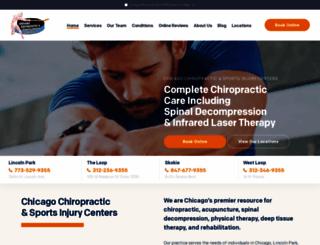 sportsinjurycenters.com screenshot