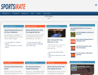 sportsirate.com screenshot