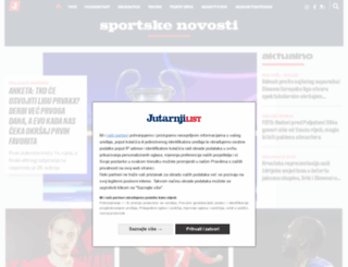 sportskenovosti.hr screenshot