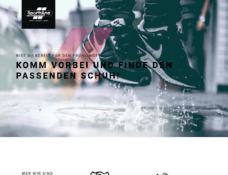 sportsline-shop.de screenshot