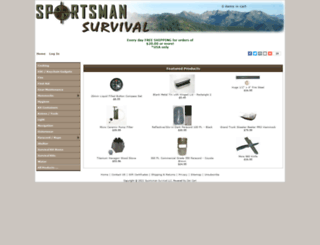 sportsmansurvival.com screenshot