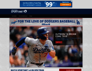 sportsnetla.com screenshot